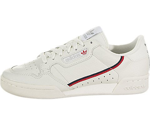 adidas Continental 80 (Running White/Off White/Scarlet) Mens Shoes B41680