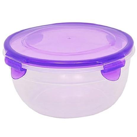 Amazoncom Sure Fresh Round Plastic Storage Bowls with Clip Lock