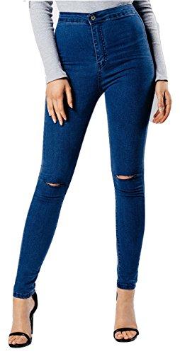 Fashions amp;Ayat Azul Vaqueros Momo para mujer FzqZqwa