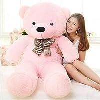 OSJS Soft Toys Lovable/Huggable Teddy Bear for Girlfriend/Birthday Gift/Boy/Girl Pink 3 feet (90 cm)