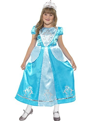 Cinderella Rags Costumes (Rags to Riches Princess Costume, Cinderella, Small Age 4-6, Girls Fancy Dress by Smiffy's)