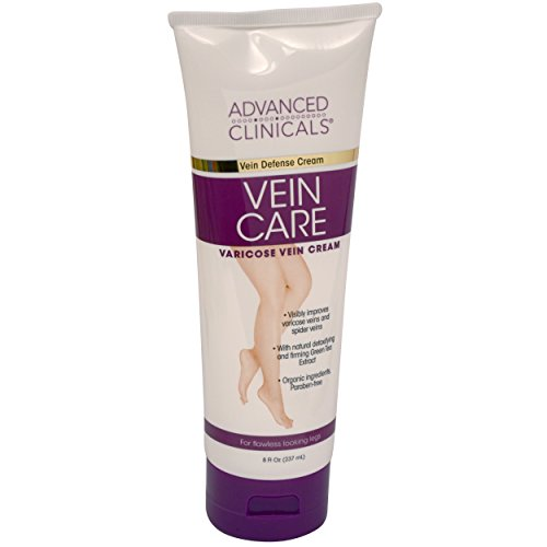 Advanced Clinicals Vein Care- Eliminate the Appearance of Varicose Veins. Spider Veins. Guaranteed Results!