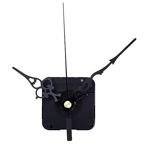 Mudder High Torque Hands Clock Mechanism, 3/ 10 Inch Maximum Dial Thickness, 4/ 5 Inch Total Shaft Length (High Torque Quartz Movement)