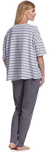 Italian Fashion IF Pijamas para mujer Dafne 0230 Melange