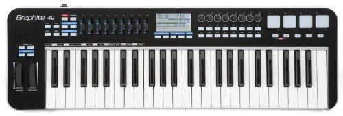 Komplete 4 Virtual Instrument - Samson Graphite 49 USB MIDI Controller