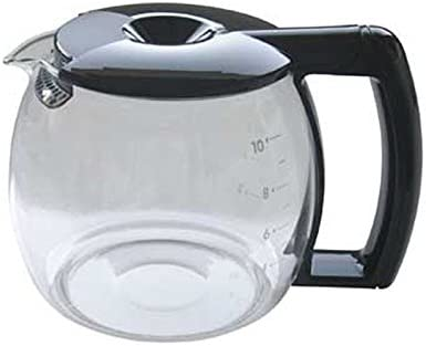 Jarra negra para Cafetera DeLonghi. 10 tazas. BCO261N BCO110 ...