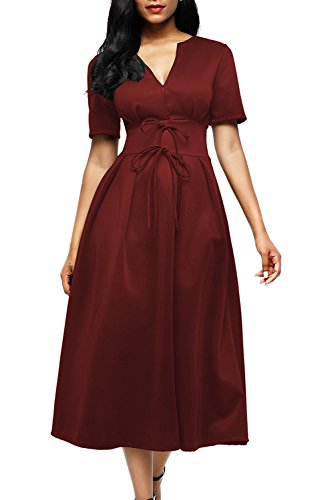 AlvaQ Women Sexy A line Party Cocktail Dresses For