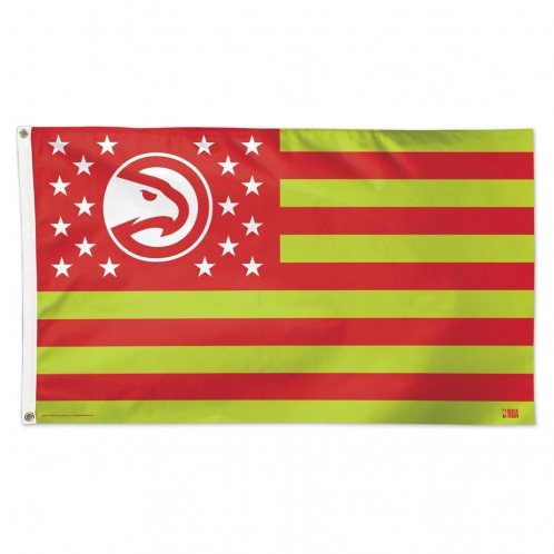 - WinCraft NBA Atlanta Hawks Flag3'x5' Flag, Team Colors, One Size