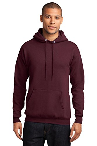 (Port Company Classic Pullover Hooded Sweatshirt. - X-Large -)