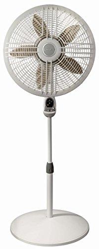Lasko Fans 1880C Pedestal Fan with Remote, Gray 18 by Lasko