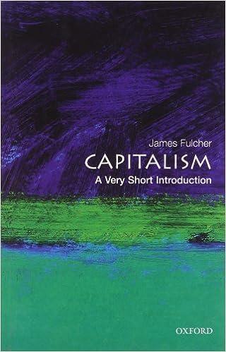 ผลการค้นหารูปภาพสำหรับ Capitalism : A Very Short Introduction