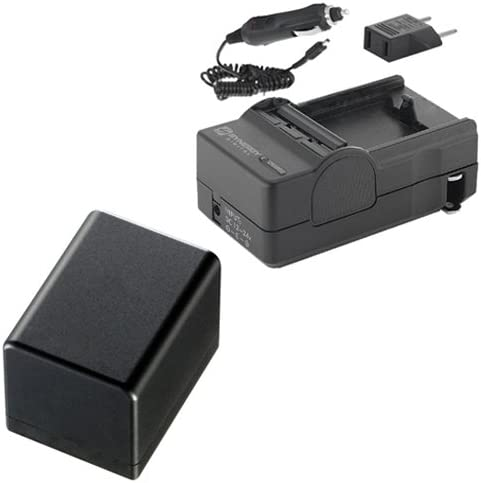 PTBP727 Battery Canon VIXIA HF M52 Camcorder Accessory Kit Includes KSD2GB Memory Card ZELCKSG Care /& Cleaning
