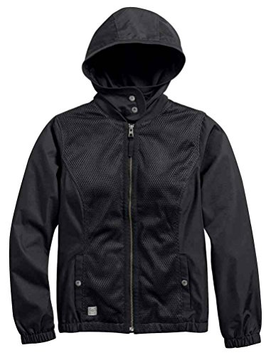 Harley Davidson Women's Lacy Lightweight Bomber Casual Ja...