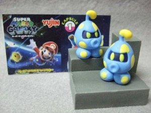 Super Mario Galaxy Trading Figure - Octoomba (2.25