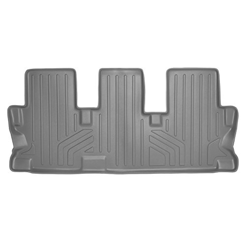 (MAX LINER C2152 Gray Custom Fit Floor Mats 3rd Liner Grey for 2014-2019 Toyota Highlander with 2nd Row Bench Seat)