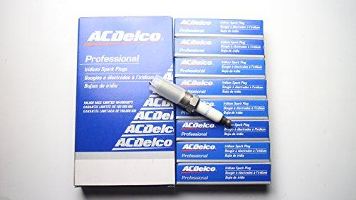 8 pcs Plug Spark 41-103 12625058 Spark Plug For Chevrolet Buick GMC Cadillac