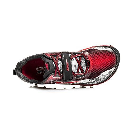 Noir 11 UK pour de Trail Rouge Chaussures Homme Altra qBOPXwRxq