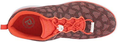 Propet Women's TravelFit Sneaker, Orange, 10 Medium US