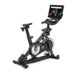 Cycle to success on the NordicTrack Commercial S22i Studio exercise bike. Featuring a one-year iFit membership, this powerful exercise bike allows you to experience the difference personal training in your home can make in your training routi...