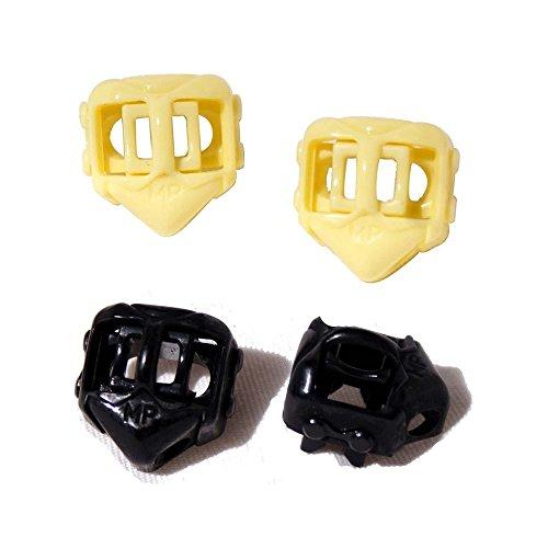 Price comparison product image 2 Pairs Kids Easy No Tie Smart Shoelace Locks (M Alien black/yellow)