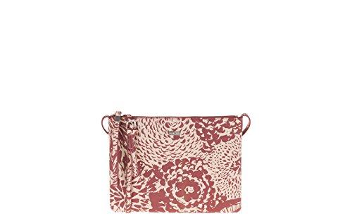 Parfois - Clutch - Bandolera Papaya Print - Mujeres Rojo Estampado