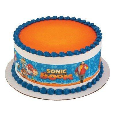 Sonic The Hedgehog Strips Licensed Edible Cake Topper 58223 Buy