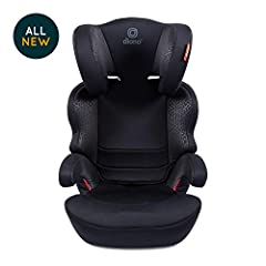 The Everett NXT High Back Booster was designed to accommodate growing kids from 40 - 120 pounds. The Everett booster seat features a 7-position adjustable headrest, LATCH connectors for a easy and secure installation into the vehicle, removea...