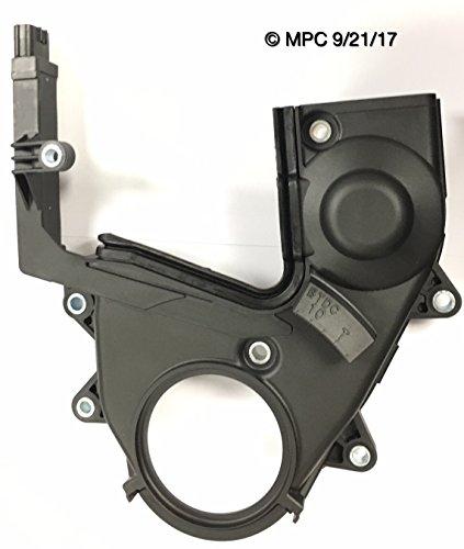 Genuine Mitsubishi OE Timing Belt Cover Lower MD372750 Lancer 2.0L Engine Non-Turbo 2002 2003 2004 2005 2006 2007 Mirage 2001 2002 ()