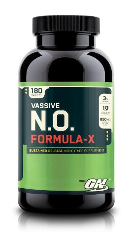 Optimum Nutrition Vassive N.O. Formula X, Tablets, 180 Count