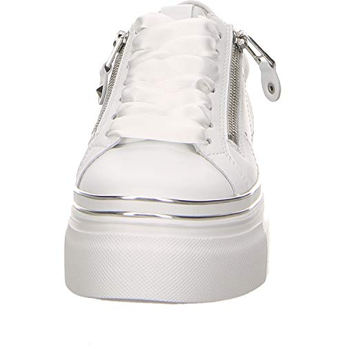 Kennel amp; Zapatillas Mujer Blanco Piel 23010 627 91 De Schmenger Lisa rrdwHUxgFq