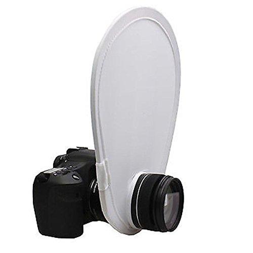 FidgetFidget Collapsible Flash Speedlite Diffuser Reflector Soft Light Studio for DSLR Camera