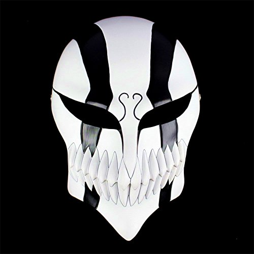 Gmasking Resin Bleach Ichigo Kurosaki Full Hollow Cosplay Mask+Gmask (Bleach Kurosaki Cosplay Costume)