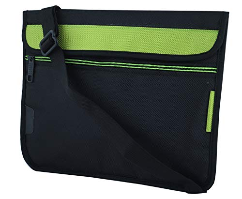 Saco Soft Durable Pouch for Lenovo Tab M10 FHD REL Tablet 10.1-inch -Green