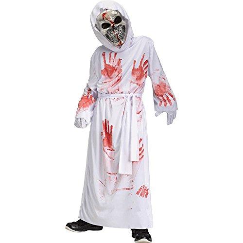 White Reaper Costume (Bloody Bleeding White Reaper Kids Costume)