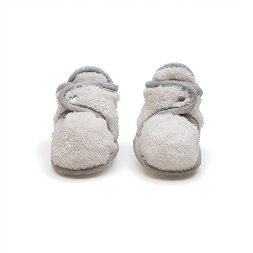 Baby Deedee Faux fur Ultra soft booties or slipper, Ivory...
