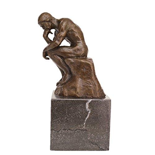 Classical Statue (Classical Rodin Statue Thinker Bronze Sculpture Toperkin Home Decor Art Craft TPE-185)