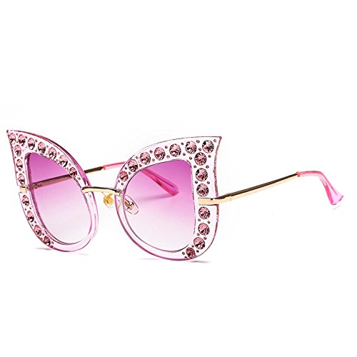 De Sol Visera Playa Caja Y Beat Ojo Europea Gafas Gafas Diamante F Americana RinV Moda Sol Street Sra De De C Gato Grande Pnvxqz