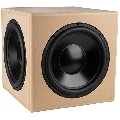 "Parts Express Passive Dayton Audio Reference 15"" with Dual Passive Radiator Subwoofer Kit"