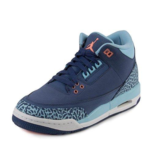 Jordan AIR JORDAN 3 RETRO GG girls basketball-shoes 441140-506_9Y - DK PURPLE DUST/ATOMIC PINK-BLUECAP-WHITE]()