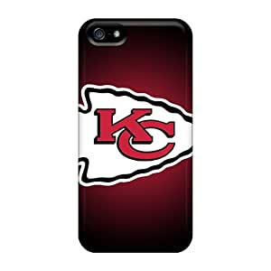 New Style Tpu 5/5s Protective Case Cover/ Iphone Case - Kansas City Chiefs 5