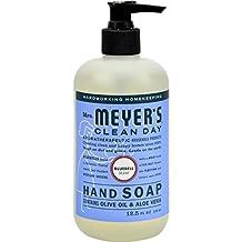 Mrs Meyers Hand Soap Bluebell 12.5 Ounce Pump (370ml) (6 Pack)