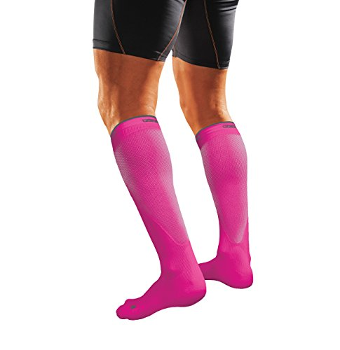 Shock Doctor SVR Recovery Compression Socks, Shock Pink, Adult-X-Small