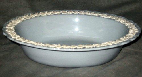 Wedgwood Shell Cream Color Lavender Oval Vegetable Bowl