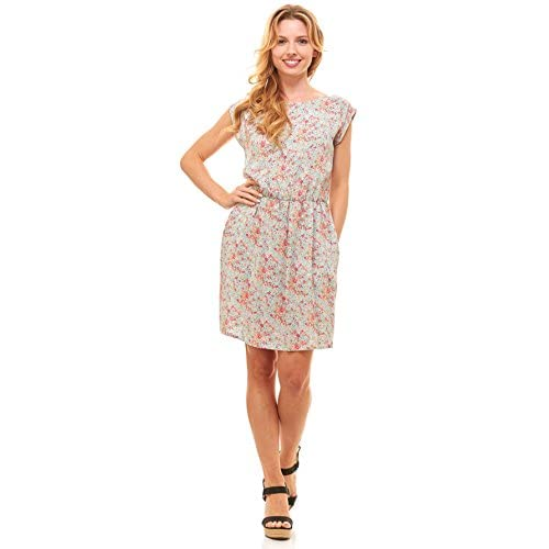 72bec342f8e9c Red Hanger Womens Summer Dress - Floral Solid Casual Midi Dresses for Women  with Pockets well