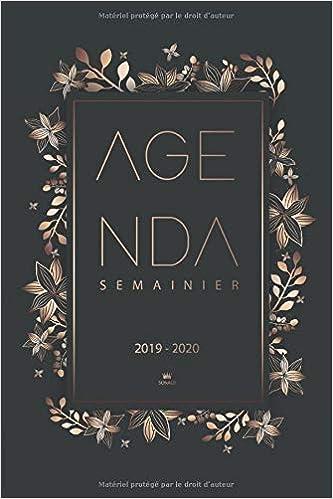 Calendrier De Poche 2019.Agenda 2019 2020 Agenda Journalier Et Calendrier 2019
