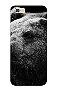 Fireingrass Fashion Protective Black Bear Case Cover For Iphone 6 Plus