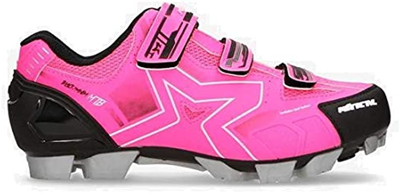 MITICAL Zapatillas Ciclismo Rosas (Talla: 36): Amazon.es: Zapatos ...