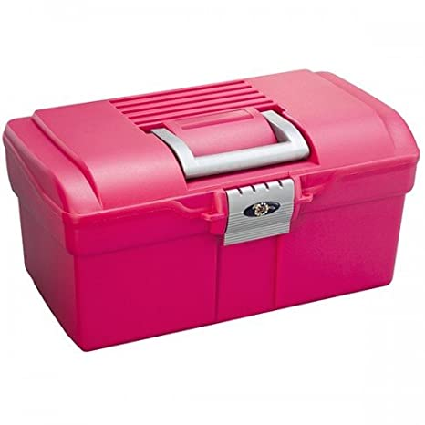 ProTack Small Grooming Box (One Size) (Raspberry/Silver) UTTL495_2