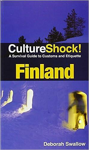 culture shock finland pdf