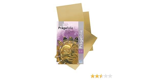 Surtido de 3 Láminas de Metales para Repujado-Grabado 18,5x29 cm Dorado: Amazon.es: Juguetes y juegos